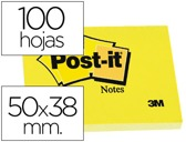 BLOCO DE NOTAS ADESIVAS POST-IT POST-IT AMARELO 50 X 38 MM