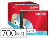 CD-R - 700MB 80 MIN 52X NORMAL IMATION