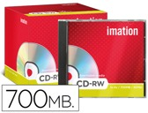 CD-RW - 700MB 80 MIN REGRAVAVEL 1X - 4X IMATION