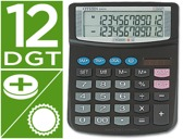 CALCULADORA CITIZEN DE SECRETARIA EX-870 2 LINHAS 12 DIGITOS