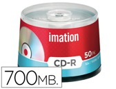 CAIXA DE 50 CD-R - 700MB 80 MIN 52X IMATION