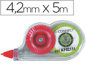CORRECTOR DE FITA Q-CONNECT 4,2 MM X 5 MTS, EM BLISTER