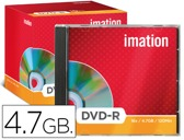 DVD-R - 4,7 GB 120 MIN 16X IMATION