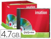 DVD-RW - 4,7 GB 120 MIN 4X REGRAVAVEL IMATION