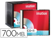CD-R - 700MB 80 MIN 52X SLIM NORMAL IMATION