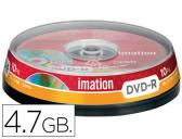 DVD-R - 4,7 GB 120 MIN 16X PACK DE 10 UNIDADES IMATION