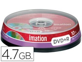 DVD+R - 4,7 GB 120 MIN 16X PACK DE 10 UNIDADES IMATION