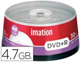 DVD+R - 4,7 GB 120 MIN 16X PACK DE 30 UNIDADES IMATION
