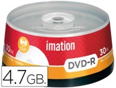 DVD-R - 4,7 GB 120 MIN 16X PACK DE 30 UNIDADES IMATION