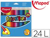 LAPIS DE CORES MAPED 183224 TRIANGULARES C/ DE 24