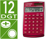 CALCULADORA CITIZEN BOLSO CPC-112 B 12 DIGITOS BURDEAUX 720X120X90 MM