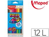 LAPIS DE CORES MAPED COR PEPS DO-BICOR CAIXA 12