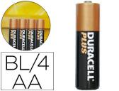 PILHAS DURACELL ALCALINA PLUS AAA -BLISTER COM 4 PILHAS