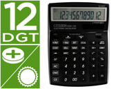 CALCULADORA CITIZEN DE SECRETARIA CCC-112 B 12 DIGITOS PRETA202X155X33 MM
