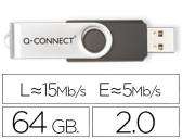 Pen drive usb q-connect flash 64gb 3.0
