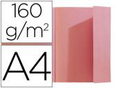 CLASSIFICADOR EXACOMPTA A4 ROSA 160G/M2 COM ABA INTERIOR