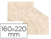 ENVELOPES FANTASIA MARMOREADOS BEIGE 160X220 MM 90 GR EMBALAGEM DE 25