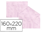 ENVELOPES FANTASIA MARMOREADOS ROSA 160X220 MM 90 GR EMBALAGEM DE 25