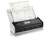 SCANNER DOCUMENTAL BROTHER ADS1600W  DUPLA FACE MEDIDAS A4