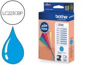 Tinteiro compativel Brother LC223C Cyan