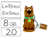 Flash Drive USB EMTEC  8 GB 2.0 SCOOBY DOO