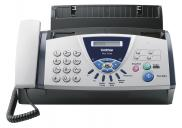 FAX BROTHER T104 TRANSFERENCIA TERMICA DE PAPEL NORMAL COM TELEFONE INCORP