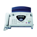 FAX BROTHER T104 TRANSFERENCIA TERMICA DE PAPEL NORMAL COM TELEFONE INCORPORADO
