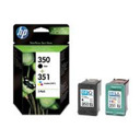 Tinteiro Original HP CB335E + CB337E Pack 350+351 (SD412E)