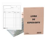 Livro de Nota expediente duplicado 215x155 mm