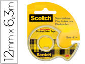 FITA ADESIVA SCOTCH 6,3 MT X 12 MM