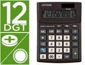 Calculadora citizen de secretaria business line eco eficiente solar e pilhas 12 digitos