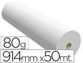 PAPEL REPROGRAFIA 80 GRS. 914 MM X 50 MTS
