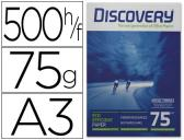 PAPEL FOTOCOPIA DISCOVERY, A3, EMB. 500 FLS, 75 GRS