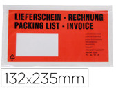 ENVELOPE packing list AUTOADESIVO C/JANELA 232 X 130 MM