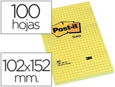 BLOCO NOTAS ADES.GRANDES QUAD 102X152MM