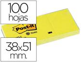 BLOCO DE NOTAS ADESIVAS POST-IT RECICLADO 38 X 51 MM