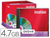 DVD+R - 4,7 GB 120 MIN 16X IMATION