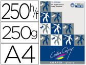 PAPEL COLOR COPY GLOSSY, EMB. 250 FLS, 250 GRS, A4