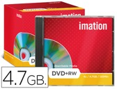 DVD+RW - 4,7 GB 120 MIN 4X REGRAVAVEL IMATION
