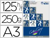 PAPEL COLOR COPY GLOSSY, EMB. 125 FLS, 250 GRS, A3