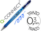 ESFEROGRAFICA Q-CONNECT TINTA GEL AZUL 0,7 MM 32448