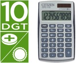 CALCULADORA CITIZEN DE BOLSO CPC-110 10 DIGITOS