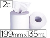 ROLO DE PAPEL SECA-MAOS,199 MM X135 MT - MANDRIL 76 DIAMETRO 197 MM