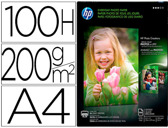 PAPEL HP PHOTO SEMI-GLOSSY -200G/M2- -A4- INK JET 100 FOLHAS