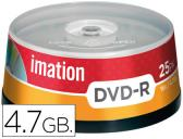 DVD -R IMATION 4.7GB 16X SPINDLE -PACK DE 25 UNIDADES