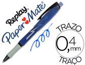 ESFEROGRAFICA REPLAY MAX AZUL COM BORRACHA 43403