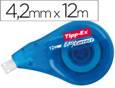 CORRECTOR DE FITA TIPP-EX EASY LATERAL 4,2 MM X12MTS