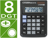 CALCULADORA CITIZEN DE SECRETARIA SDC-011-S -8 DIGITOS