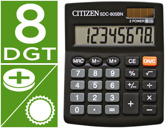 CALCULADORA CITIZEN DE SECRETARIA SDC-805-BN -8 DIGITOS