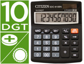 CALCULADORA CITIZEN DE SECRETARIA SDC-810-BN -10 DIGITOS